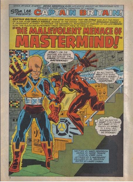 Captain Britain vs Mastermind